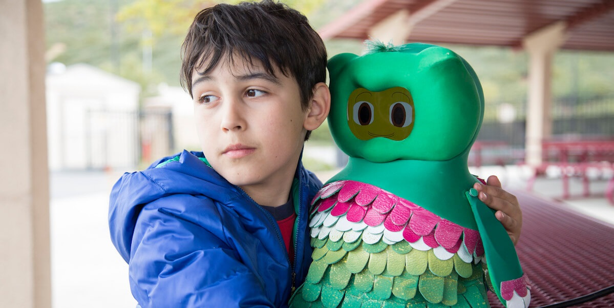 Robot Kiwi enseñanza niños autistas   Autismo.Online