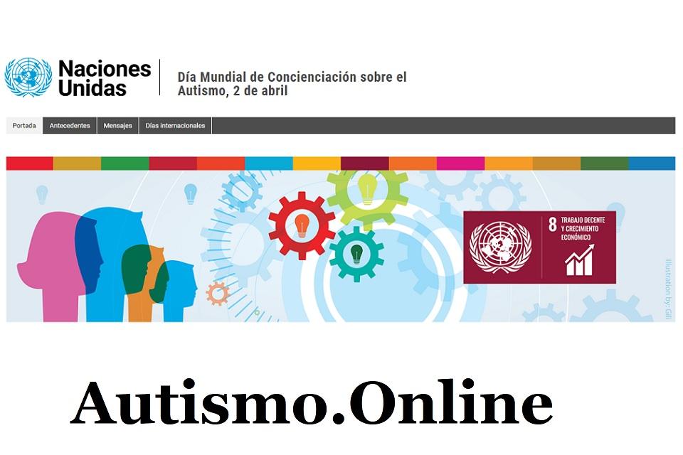 Fondo azul - color autismo
