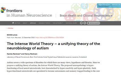Autismo – Teoría del Mundo Intenso